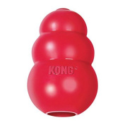 Kong Classic Kong Dog Toy, Large, Red, ,