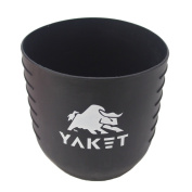 Yaket Grip For Yeti Rambler Tumbler (shadow Black 890ml) Shadow Black 890ml, Yk