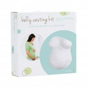 Tiny Ideas Easy To Use Belly Cast Kit, White