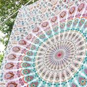 Hippie Tapestry, Hippy Mandala Bohemian Tapestries, Indian Dorm Decor