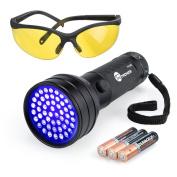 Uv Flashlight Black Lights Taotronics 51 Ultravilot Urine Detector For Dogs P...