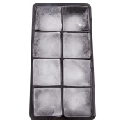 Zenware Silicone Extra Large 5.1cm 8 Ice Cubes Tray Mould