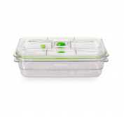 Foodsaver Vacuum Sealed Fresh Container 10-cup, Crack/shatter/