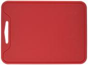 """Unicook Flexible Silicone Cutting Board-Red,11.5"""" x 22cm ,Non Slip,Sturdy,Food Grade,Non-toxic"""