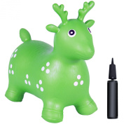 Bouncy Animal Bouncy Horse Inflatable With Pump Hopper Childrens Hopping Ball