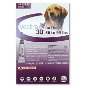Vectra 3d Purple For Dogs 25-43kg - 6 Doses, New,  .