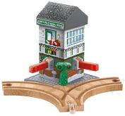 Fisher-price Thomas & Friends Wooden Railway, Christmas Crossings - Battery New