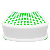Kids Green Step Stool-great For Potty Training, Bathroom Bedroom By Tundras, Xts