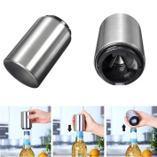 Kitchen Dining Tools Bottle Hammer Automatic Bottle Opener Stainless Steel Soda