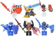 Tenkai Knights Toys Value Pack Includes 6 Figures New