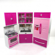 Kitchen Play Set Toy For Children, Battery Operated Pretend Play Kitchen Toy,...