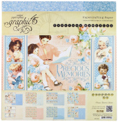 Graphic 45 Precious Memories Pad Paper, 30cm By 30cm