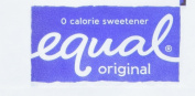 Equal Original Zero Calorie Sweetener 1000 Packets, 1040ml New