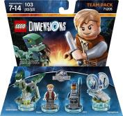 New Lego Dimensions Team Pack Jurassic World 71205  .