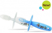 Zoli Chubby Gummy Gum Massager, Blue/white