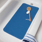 Blue Comfort Foam Soft Touch Bath Mat