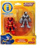 Imaginext DC Justice League Cyborg & Red Tornado
