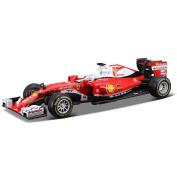 Bburago 1:43 Ferrari F1 Sf16-h 7# Kimi Raikkonen Diecast Model Racing Car