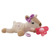 Dr Browns Lovey Soft Plush Toy Animal Deer W/ Silicone Soother Pacifier For Baby