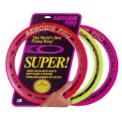 Aerobie 33cm Pro Ring Set Of 3 (colours May Vary), New,  .