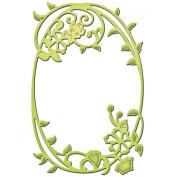 Spellbinders S2-110 Shapeabilities D-lites Die Cut, Framed Floral