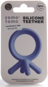 Comotomo Silicone Baby Teether, Blue
