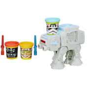 Play-doh Star Wars At-at Attack With Can-heads