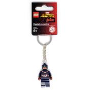 Lego Super Heroes Captain America Key Chain 853593