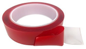 Apex RC Products 10 FOOT ROLL (25mm X 3m) 10' Clear Double Sided Easy Remove Servo Tape #3010