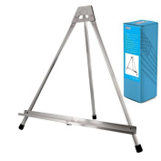 Us Art Supply Aluminium Tabletop Easel, Tri-pod Display Table Top Design With Rub