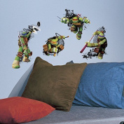 Roommates Teenage Mutant Ninja Turtles In Action Peel And Stick Giant Wall De
