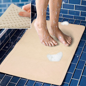 Decor Hut Bath Mat Rubber Non Slip, Great For Shower Tubs Or Laundry Room Large