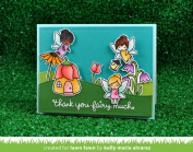 Lawn Fawn Fairy Friends - Clear Stamp (lf1057) Or Custom Die