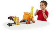 Blaze and Monster Machines Light & Launch Hyper Loop Playset