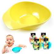 3 Baby Feeding Bowls Set Kids Meal Plate Toddler Food Snack Dish Bpa Free Colours