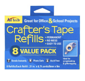 Crafters Tape Refills 8/pkg-value Pack 026438545807