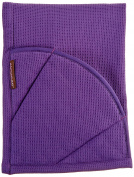 Rachael Ray Multifunctional 2-in-1 Moppine, Ultra Absorbent Kitchen Towel & Heat Resistant Pot Holder, Lavender