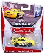 Disney World Of Cars, Piston Cup Die-cast Vehicle, Sidewall Shine No. 74 #15/16,