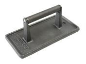 Charcoal Companion Cast Iron 20cm - 1.9cm By 10cm - 1.3cm Rectangular Grill Press