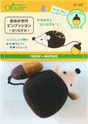 *with Clover Needle Polishing Pin Cushion Hedgehog 23-052*