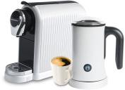 Mixpresso Coffee Latte Machine - For Nespresso Compatible Capsules - By