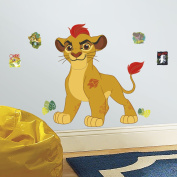 Roommates Rmk3176gm Lion Guard Kion Peel And Stick Giant Wall Decals New