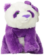 Aurora World Girlz Nation Purple Panda Plush, 28cm