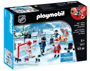 Playmobil Nhl Advent Calendar Rivalry On The Pond New