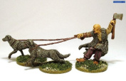 Pack Of Celtic Warhound Miniatures - Warlord Games Hail Caesar Ancient Celts