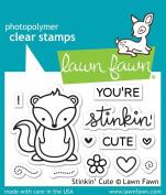 Lawn Fawn Stinkin Cute - Clear Stamp (lf1022) Or Custom Die