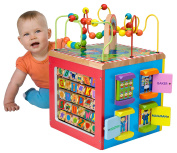 Alex Jr. My Busy Town Wooden Activity Cube New