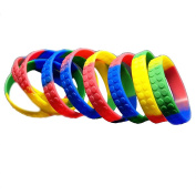 36 Building Block Novelty Bracelets For Lego Themed Children's Parties, Party