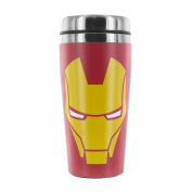 Marvel Avengers Iron Man Travel Mug Insulated Cup Double Walled Stainless Steel