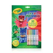 Crayola Pj Masks Colour And Sticker Book